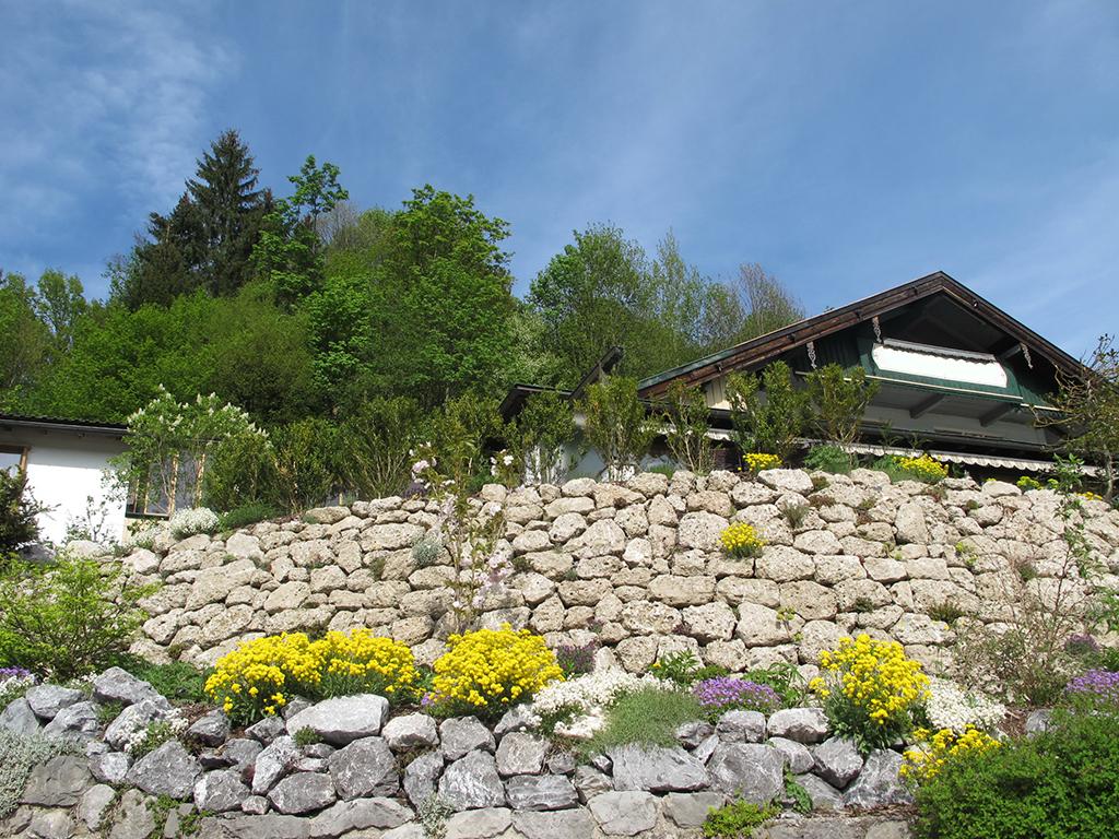 Bruchsteinmauer Nagelfluh Naturstein