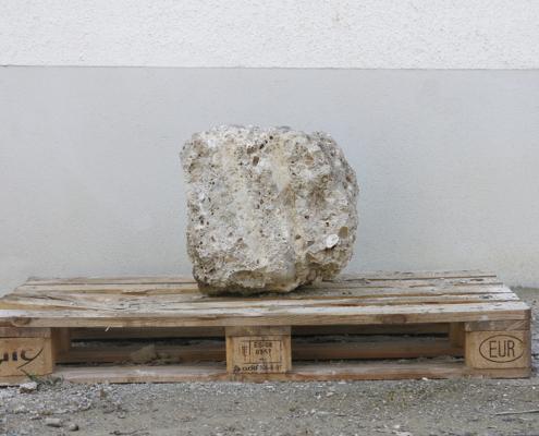 Nagelfluh Naturstein Pflasterstein klein