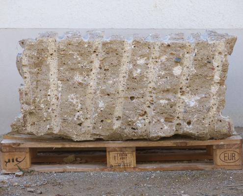 Quaderstein Naturstein Nagelfluh 50 cm