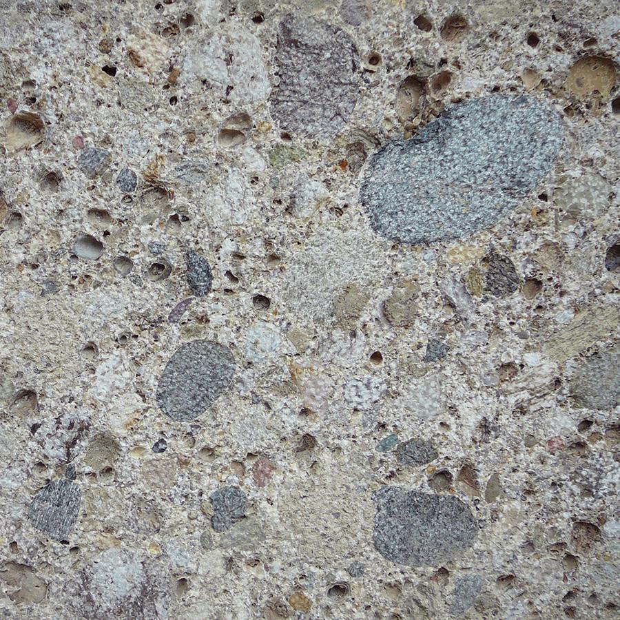 Naturstein Nagelfluh Verkleidung mittelkörnig gestockt